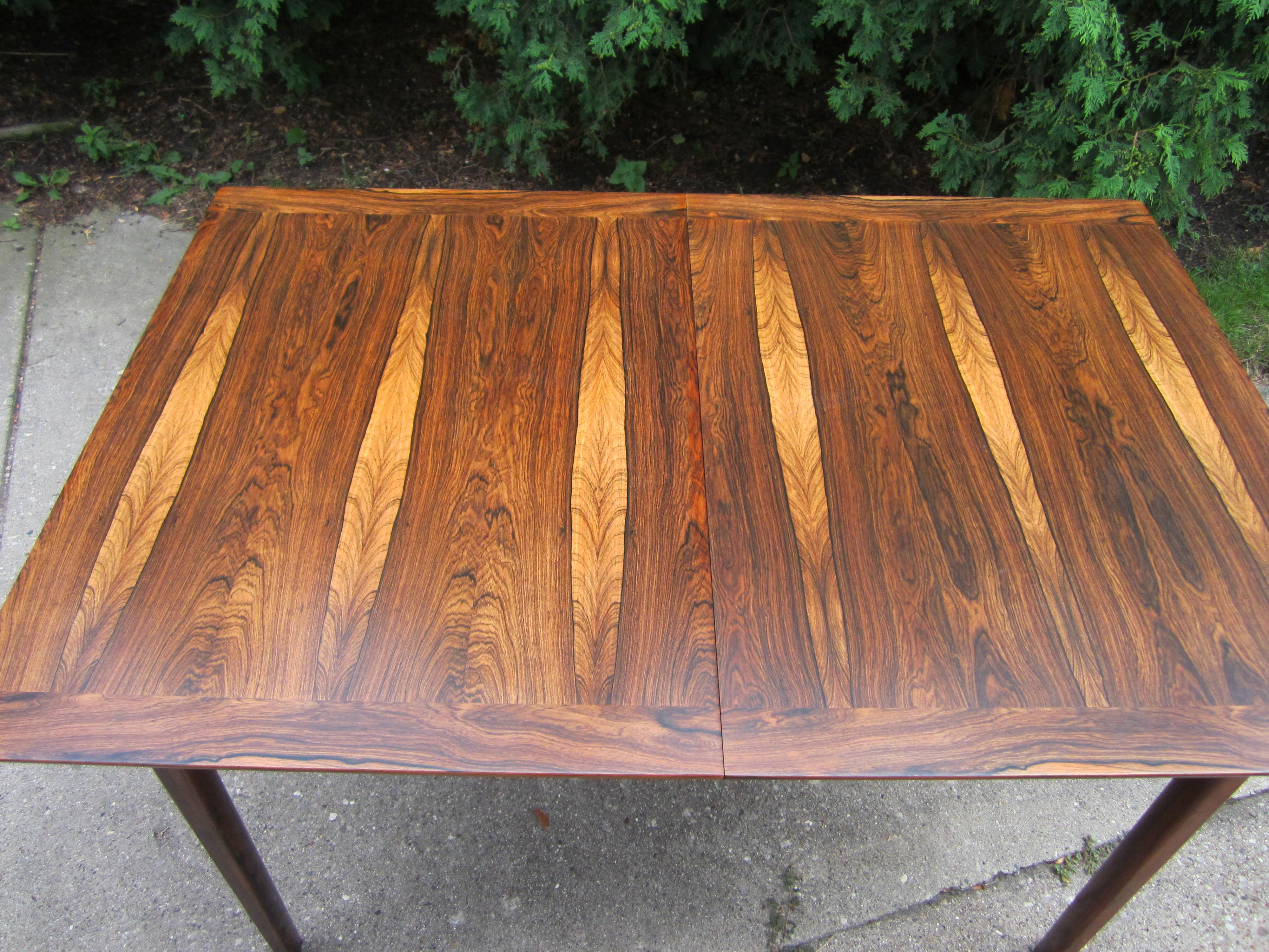 Westnofa Norway Mid Century Brazilian Rosewood Dining Table   Image 4 Of 7