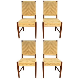 Donghia Dining Chairs with Merbau Wood - Set of 4