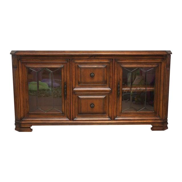 Aspen Home Barolo Collection Media Console Cabinet - Image 1 of 8