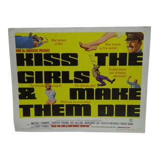 "Vintage Movie Poster ""Kiss the Girls"""