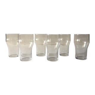French Tempered Soda Glasses - Set of 6