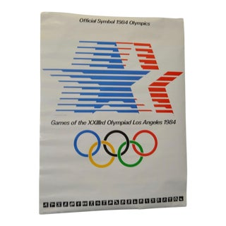 """1984 Olympics, Los Angeles """"Star in Motion"""" Poster"""