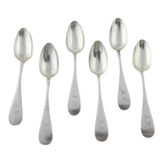 Sterling Silver Demitasse Spoons - Set of 6