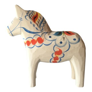 Vintage Grannas Olsson Swedish Dala Horse