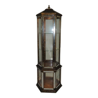 Pagoda Shape Mirrored Curio