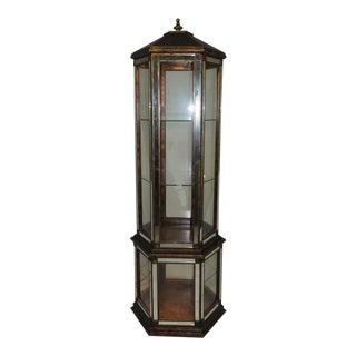 Pagoda Shape Mirror Curio