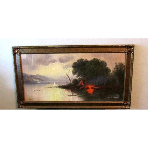 William Henry Chandler Framed Pastel Landscape - Image 2 of 4