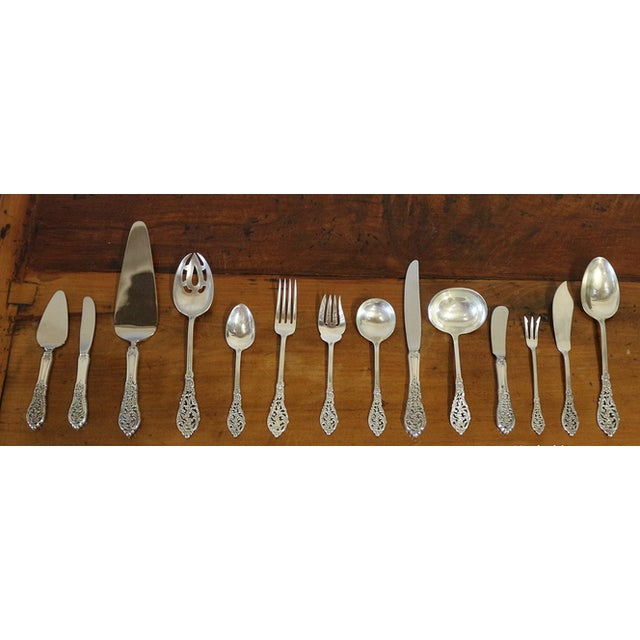 1950s Sterling Silver Flatware & Serving Pieces - Image 6 of 6