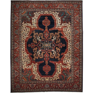 "Ziegler, Hand Knotted Area Rug - 9' 2"" x 11' 10"""