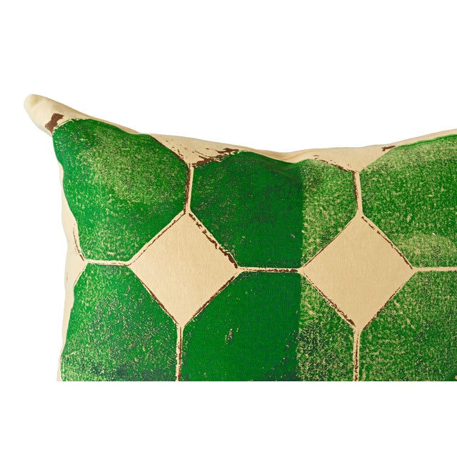 Green Octagon Throw Pillow - Image 2 of 4