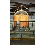 Image of Upcyclyed Victorian Birdcage Lamp by Rodney Trice