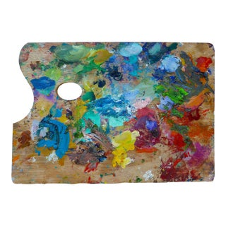 French Artist's Painting Palette