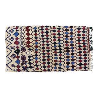 Vintage Azilal Moroccan Rug - 8'4'' x 4'8''