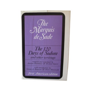 'The Marquis De Sade, the 120 Days of Sodom' Book