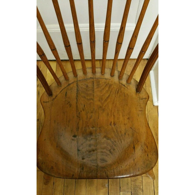 18th Century Ebenezer Tracy Windsor Chair - Image 3 of 8