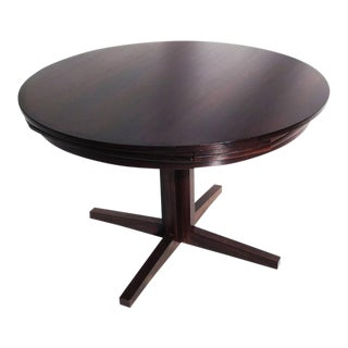 """Rosewood Expanding """"Flip - Flop"""" Lotus Dining Table by Dyrlund"""