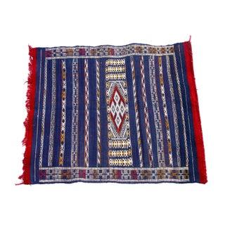 "Moroccan Berber Tribal Kilim Rug - 2' 8"" X 3' 1"""