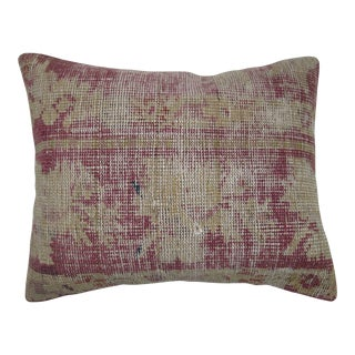 Distressed Vintage Rug Pillow