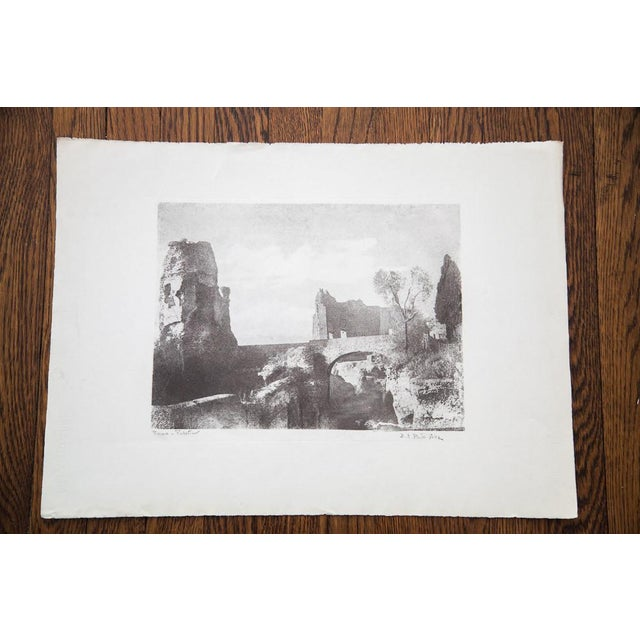 D.R. Peretti Griva Vintage Bromoil Transfer - Image 5 of 5
