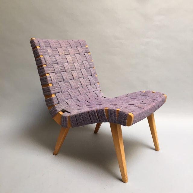 Knoll Lounge Chair by Jens Risom C. 1940s - Image 2 of 10