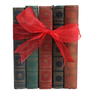 Vintage Book Gift Set: Earthtone Classics, S/5