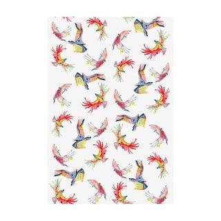 Voutsa Wallpaper - Birds on White