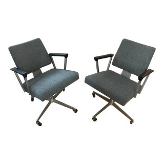 1940's Art Deco Chairs - Set of 2