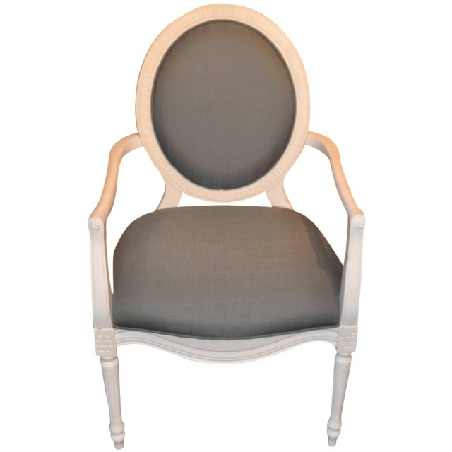 Safavieh Oval Back Chair - Image 1 of 5