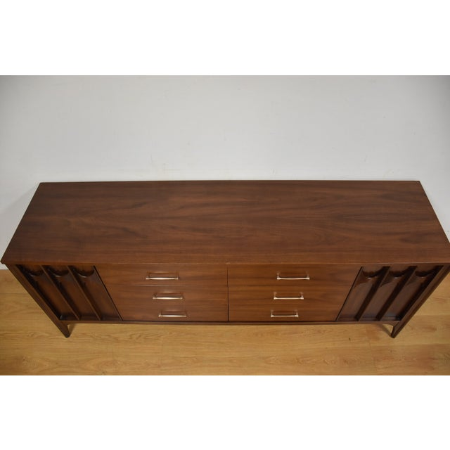 Kent Coffey Perspecta Walnut & Rosewood Dresser - Image 6 of 10