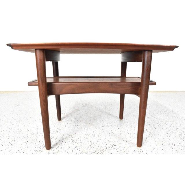 Bramin Møbler Refinished Teak Side/End Table - Image 4 of 5