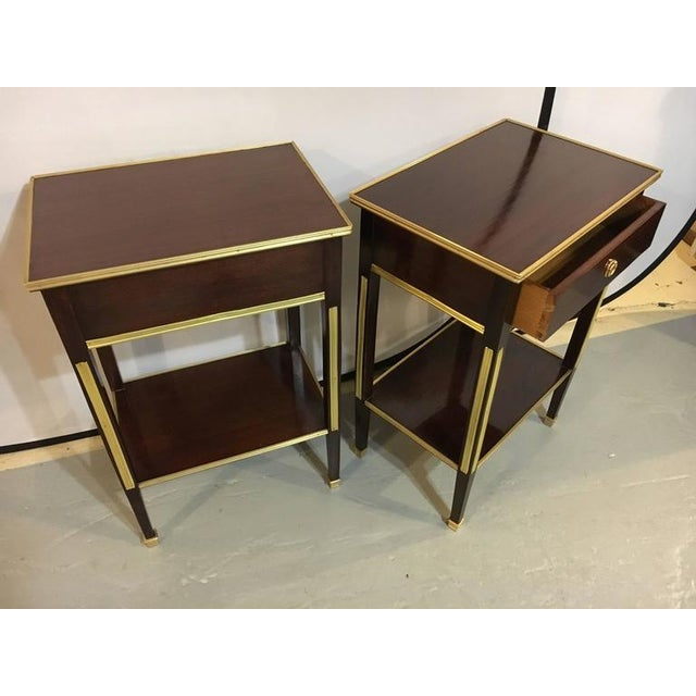 Russian Style Bronze Mounted End Tables - A Pair - Image 7 of 8