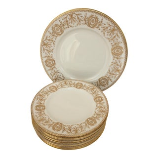 Royal Worcester Pompadour Pattern Plates - Set of 11