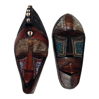 African Tribal Masks - A Pair