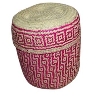 Hand-Woven Oaxacan Basket II