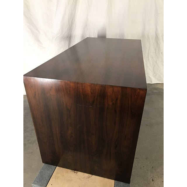 Ed Wormley Rosewood English Oak Desk - Image 8 of 11