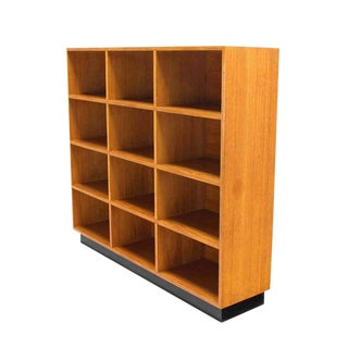 Solid Wood Shelving Unit Bookcase Mid Century Modern