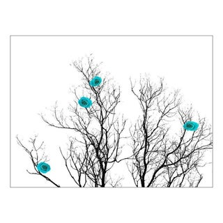 GardenWalls Japanese Spring Collection - Turquoise