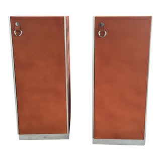 Mariani Italy for Pace Leather Chests - A Pair
