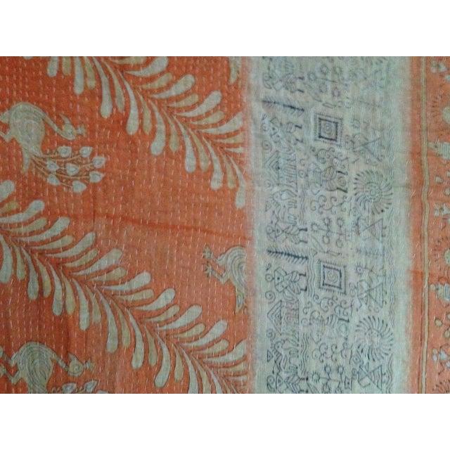 Vintage Indian Kantha Textile - Image 7 of 7