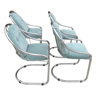 Mid-Century Italian Dining Chairs - Set of 4