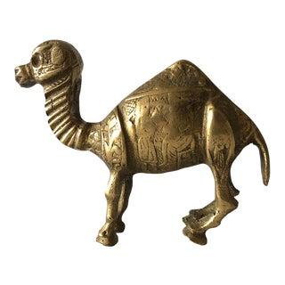 Brass Camel Figurine
