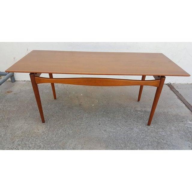 Finn Juhl Teak Coffee Table - Image 6 of 8