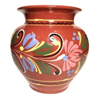 Vintage Mexican Tonala Vase