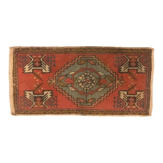 Vintage Turkish Anatolian Rug - 1′6″ × 3′1″