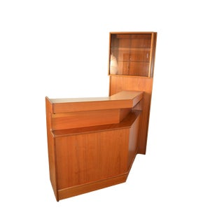 1970's Turnidge Teak Cocktail Bar