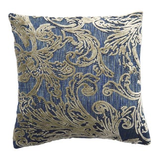 Italian Damask Velvet Pillows - a Pair