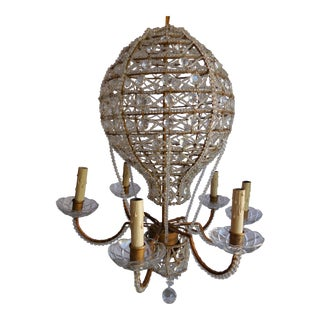 Mid-Century Hot Air Balloon Chandelier