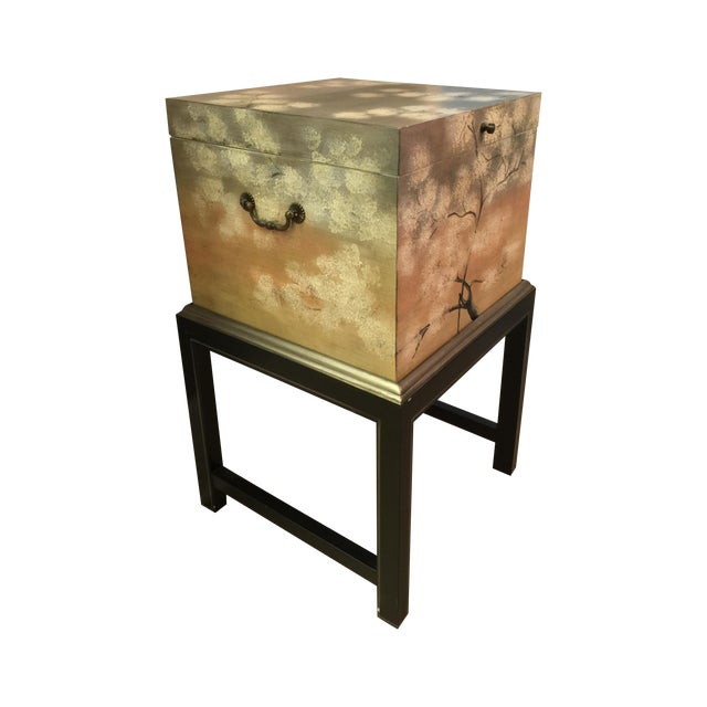 Image of Horchow Painted File Box