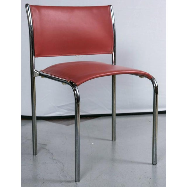 Thonet Mies van der Rohe-Style Chairs - Set of 10 - Image 2 of 4
