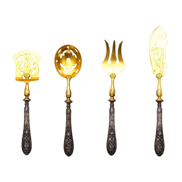 Victorian Flatware Set With Absinthe Spoon - Image 1 of 7